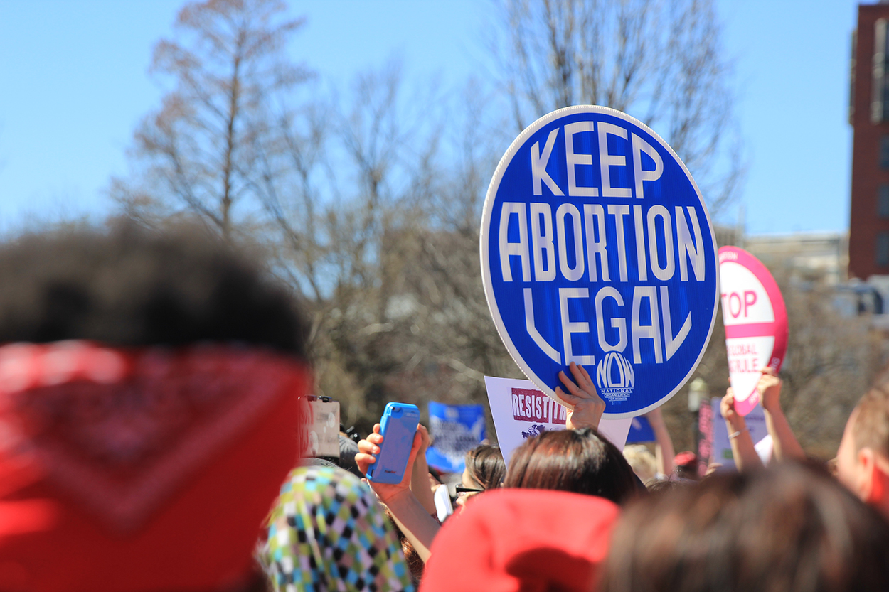 Abortion Legal Sign