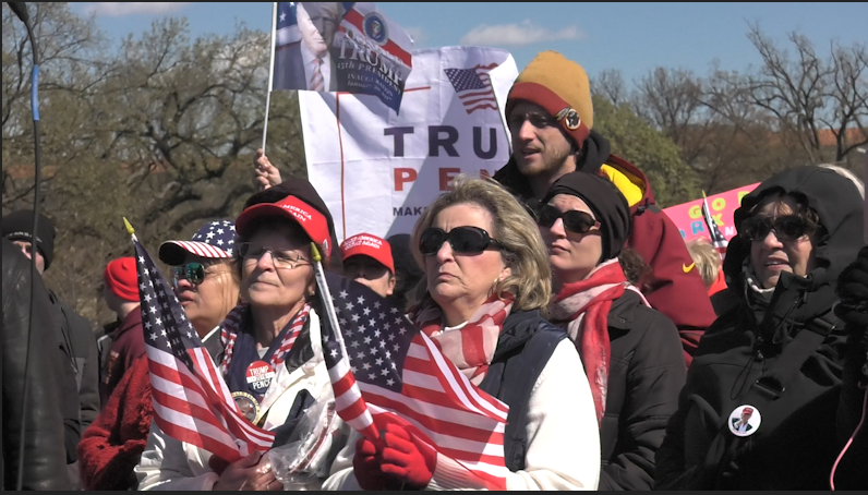 Immigration the hot topic at March4Trump