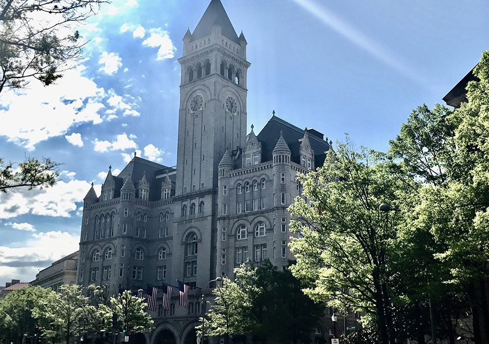 Trump hotel offering tours of historic clock tower
