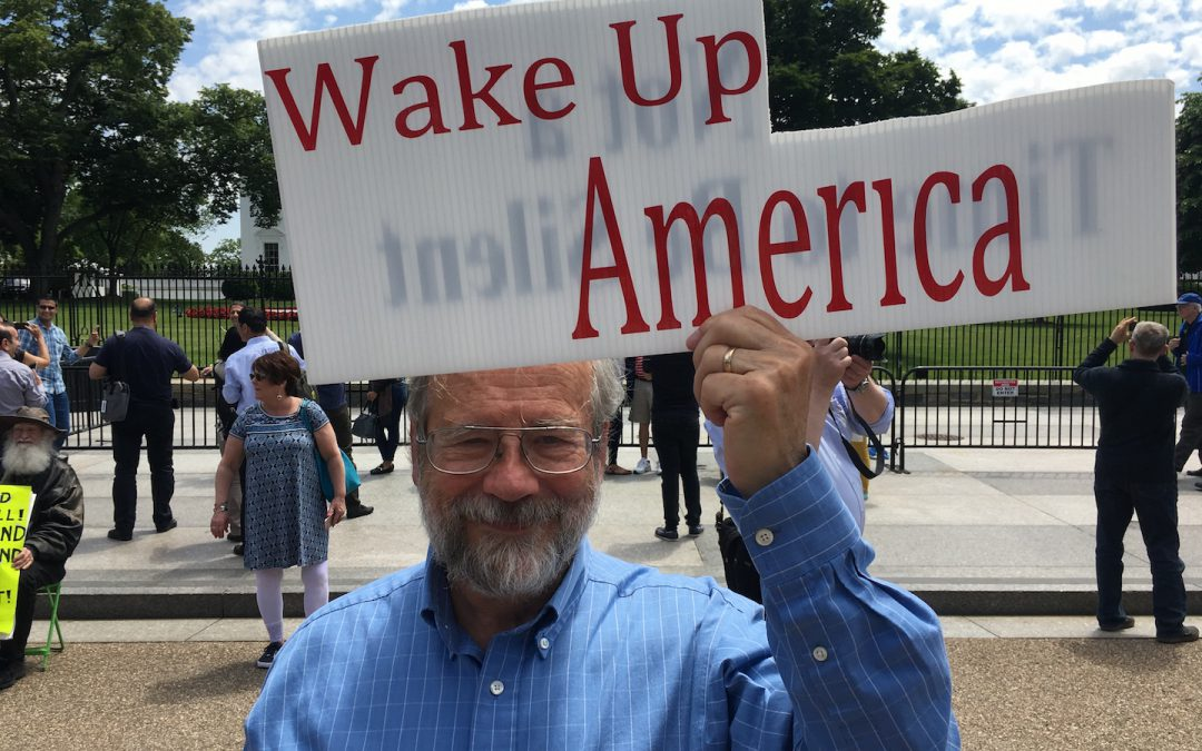Protesters Weigh In on Comey Firing