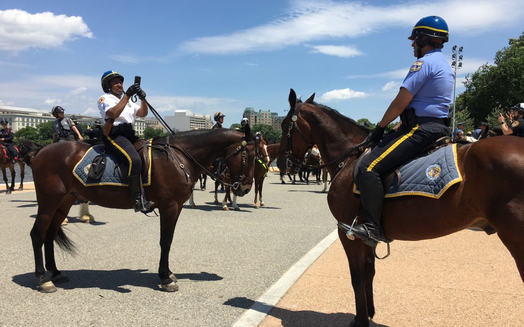 40,000 Police Descend On D.C. for Police Week