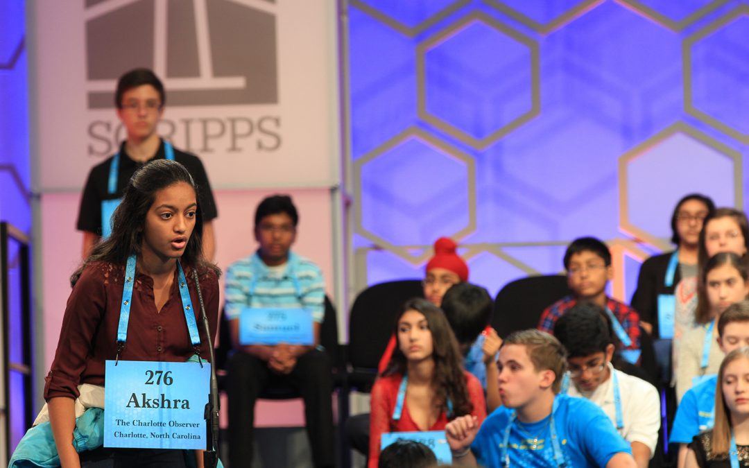 Charlotte student spells her way to the finals at National Spelling Bee