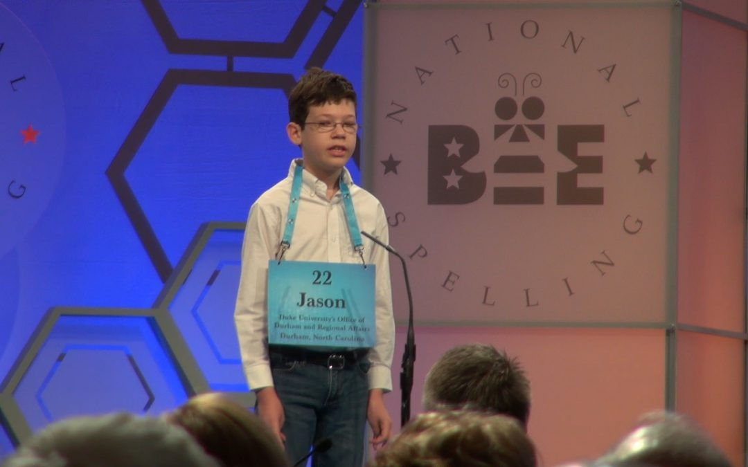Durham 5th grader all smiles despite falling short of finals in national spelling bee