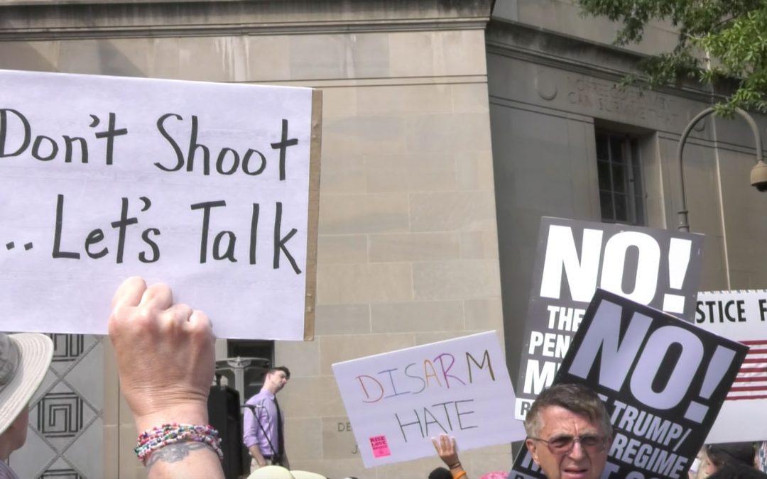 Protestors honor Philando Castile with #NRA2DOJ march