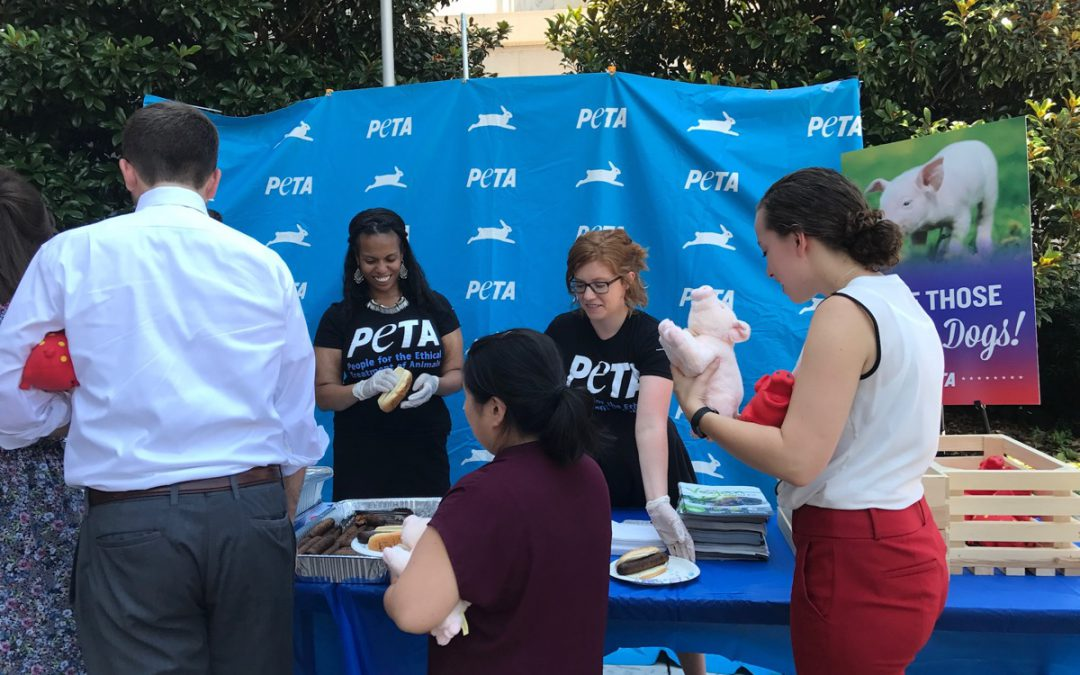 PETA Puts A Spin On National Hot Dog Day