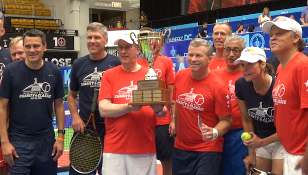 Congress Serves Up Good Sportsmanship In Charity Tennis Event