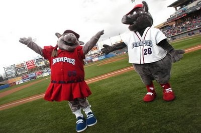 Lehigh Valley Iron Pigs Celebrating 10th anniversary