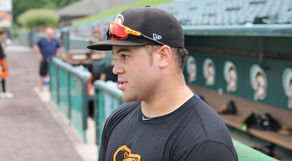 Baysox's Stewart Sees Progress At The Plate