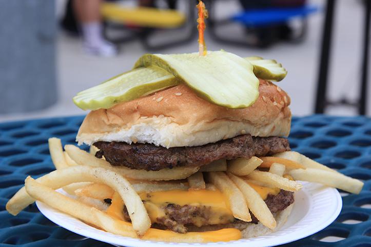 """The """"Homerunner"""" Burger"""