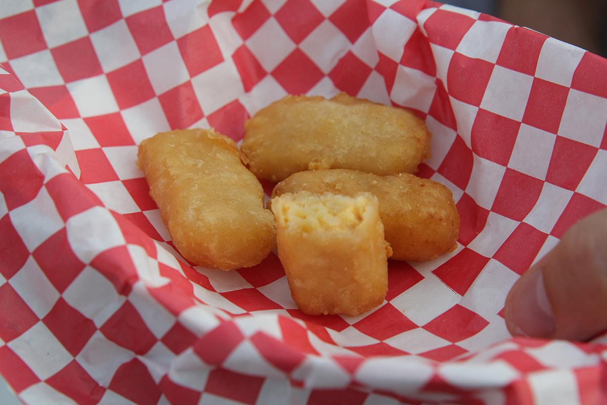 Gouda Mac & Cheese Bites