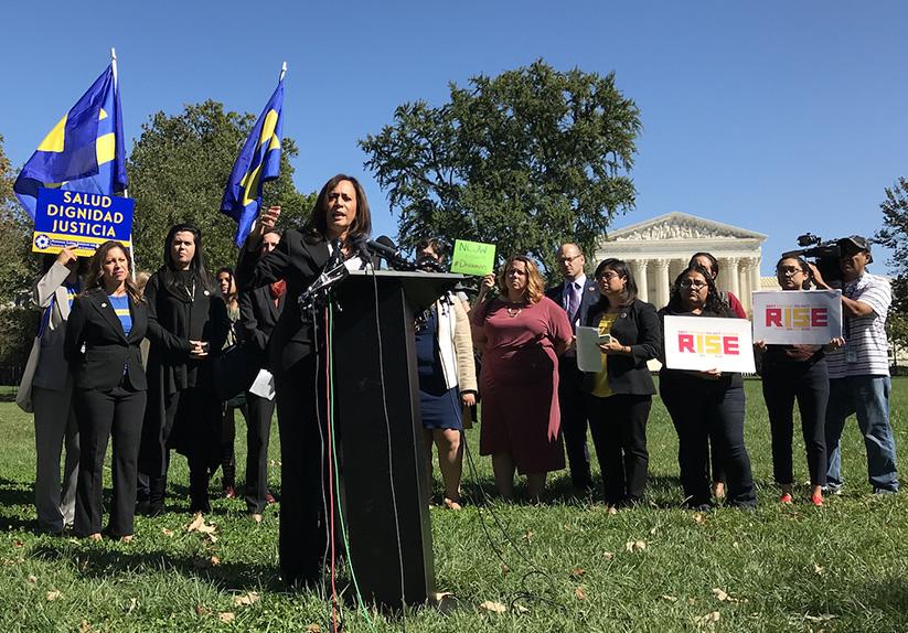 Democratic Senators speak at DACA rally ahead of Oct. 5 deadline