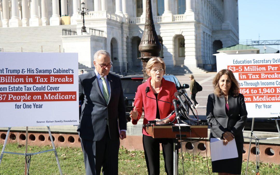 Senate GOP rallies to pass budget resolution as Dems attempt influence on tax reform