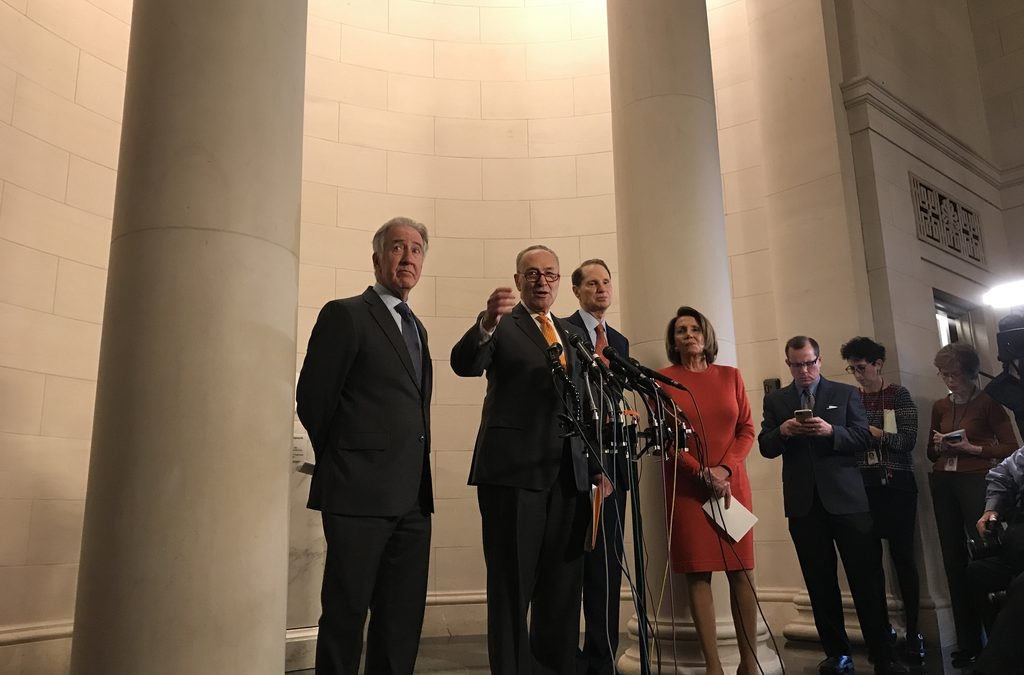 Congressional Democrats want corporate tax cut to include mandatory reinvestmenturge Republicans to adopt bipartisan tax plan