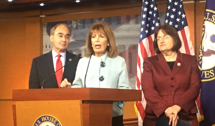 Lawmakers Take On Sexual Harassment on Capitol Hill, Unveil 'Me Too' Act