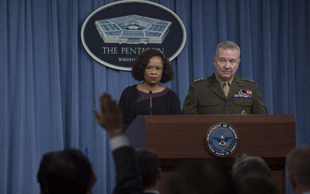 Pentagon says airstrikes reduced Syria's abiliy to use chemical weapons