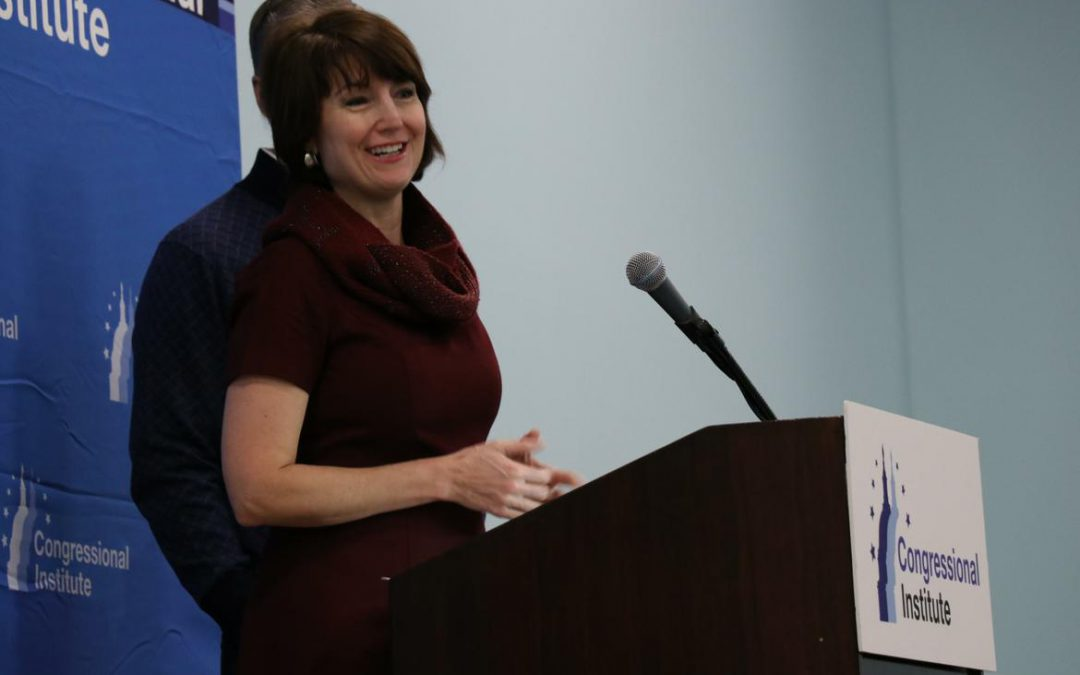 At GOP retreat, McMorris Rodgers says she backs public release of memo