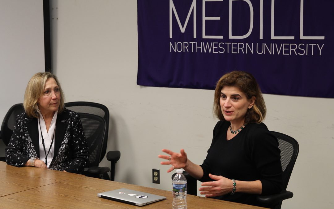 MEDILL ALUM BRIEFS STUDENTS ON EMAIL NEWSLETTERS