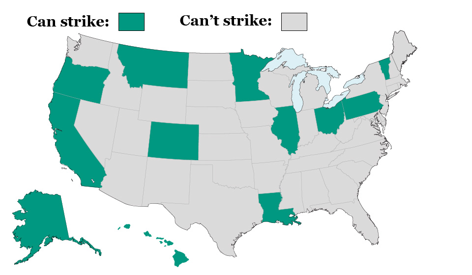 Teacher strikes are illegal in West Virginia…so how did they strike?