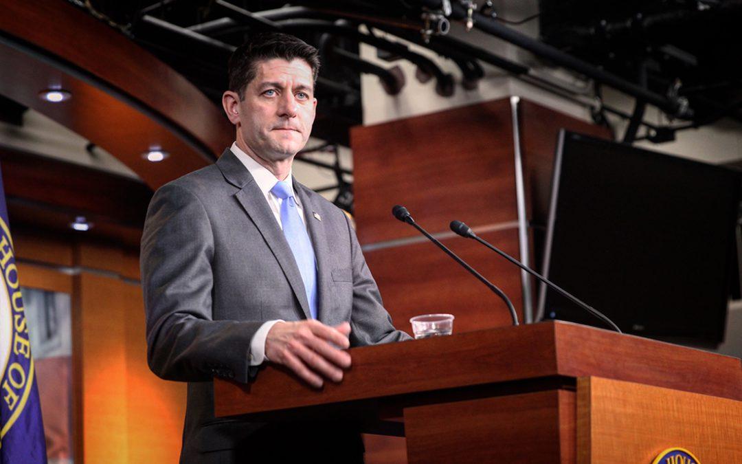 House Speaker Paul Ryan will not run for re-election