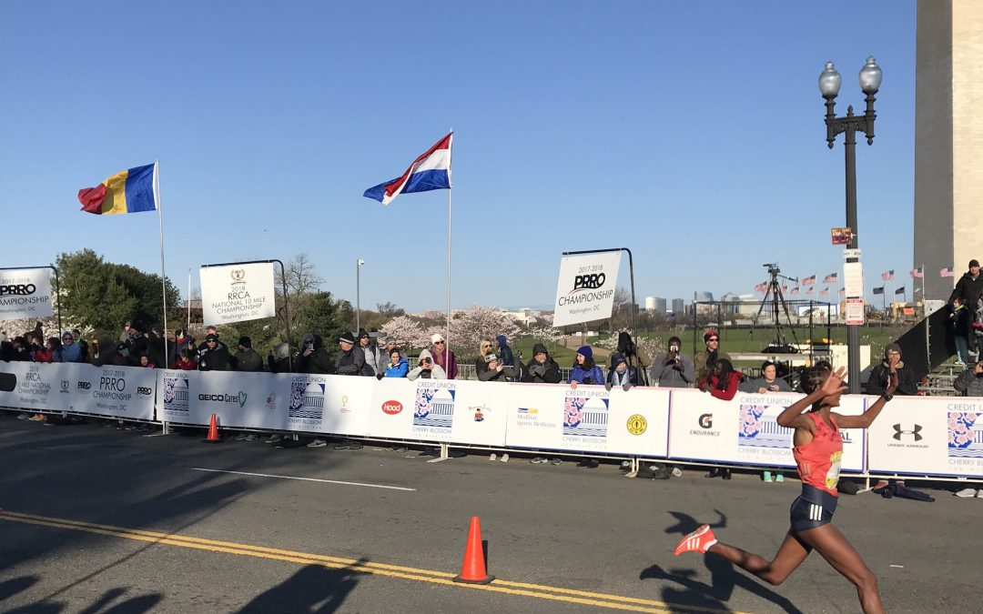 Ethiopian runners dominate 2018 Credit Union Cherry Blossom 10-mile race