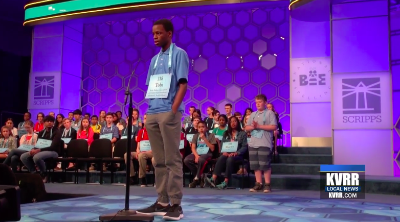 North Dakota's Top Speller Makes It To The Next Round