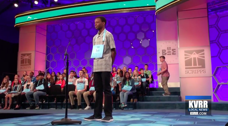 North Dakota Speller Make It Through 3rd Round Of National Spelling Bee, But Journey Ends