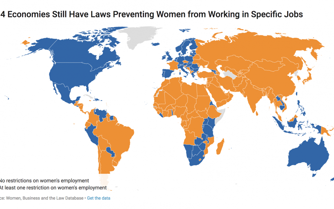 New report shows growth still needed for global women's rights