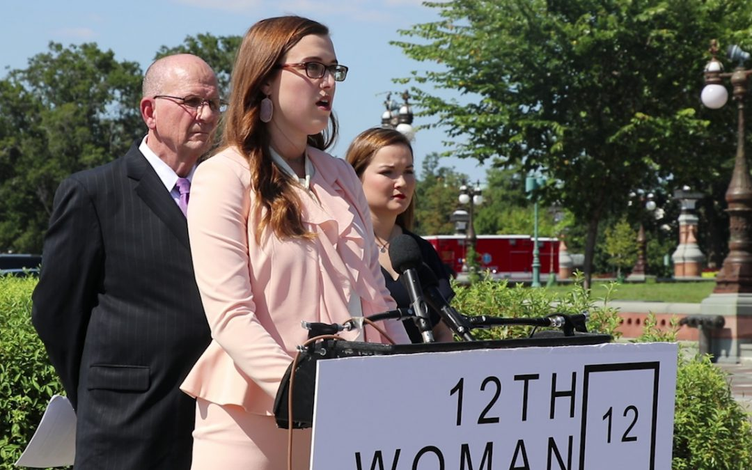 Survivors of college sexual assault speak out on Capitol Hill