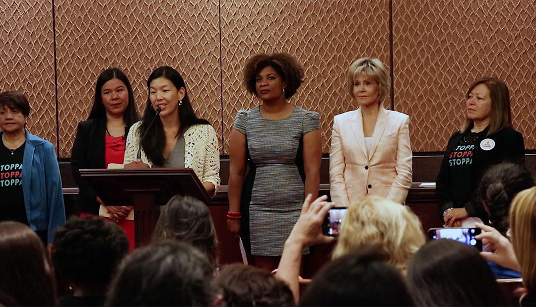 Jane Fonda lobbies for harassment protections for domestic workers
