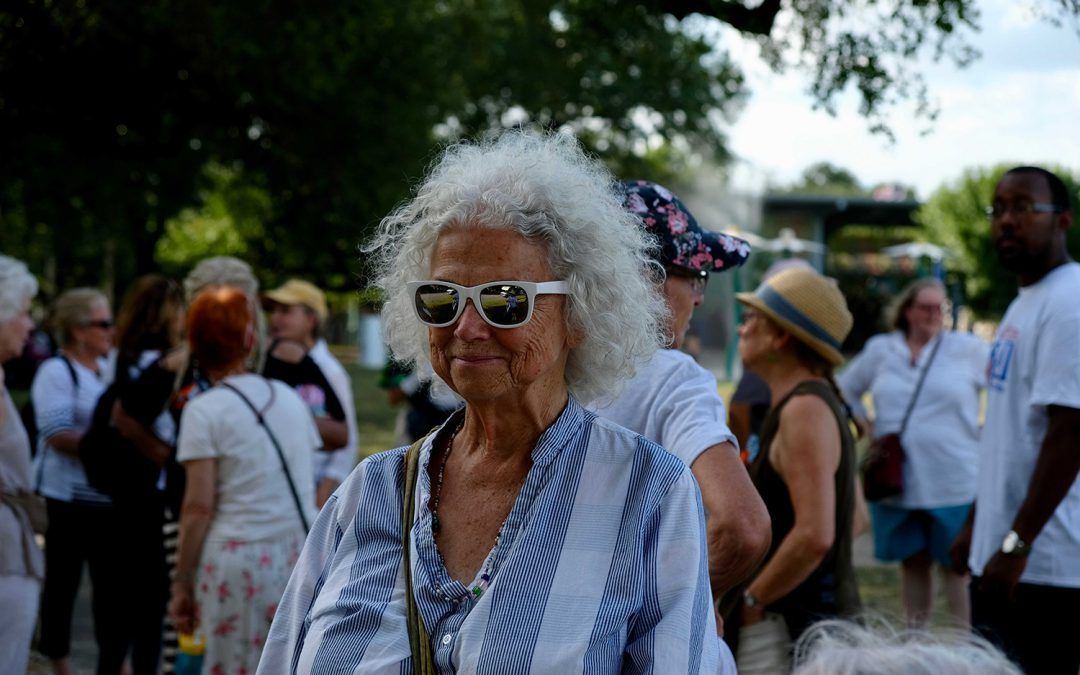 'Grannies' on a mission to the US-Mexico border