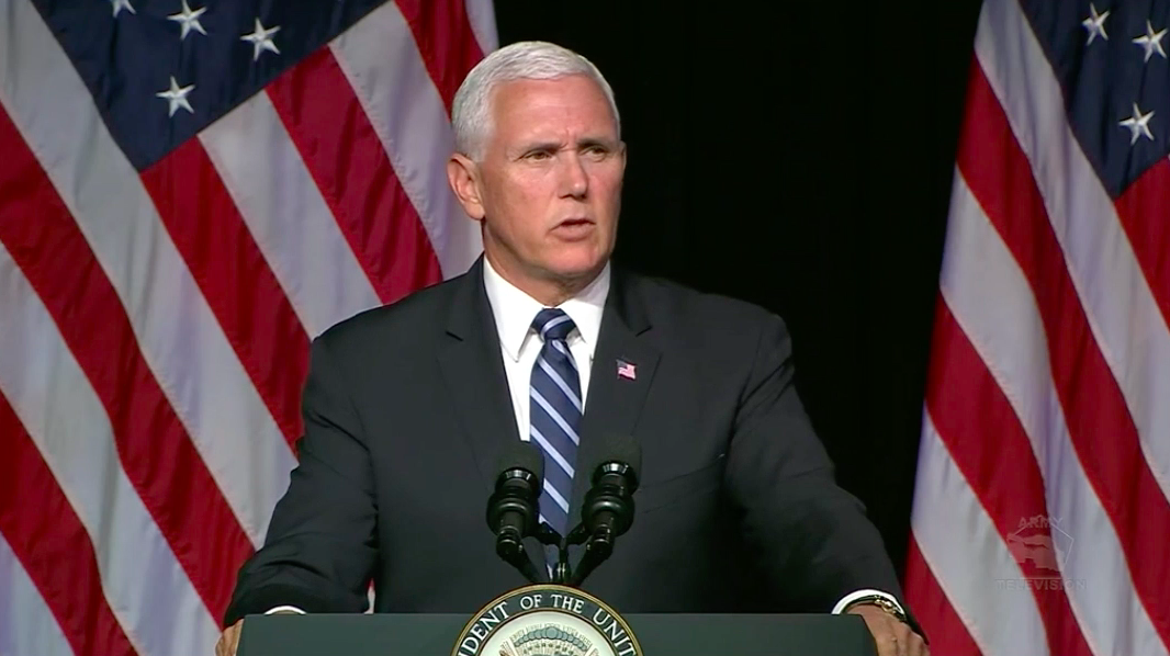 Pence Announces Plans for Space Force by 2020