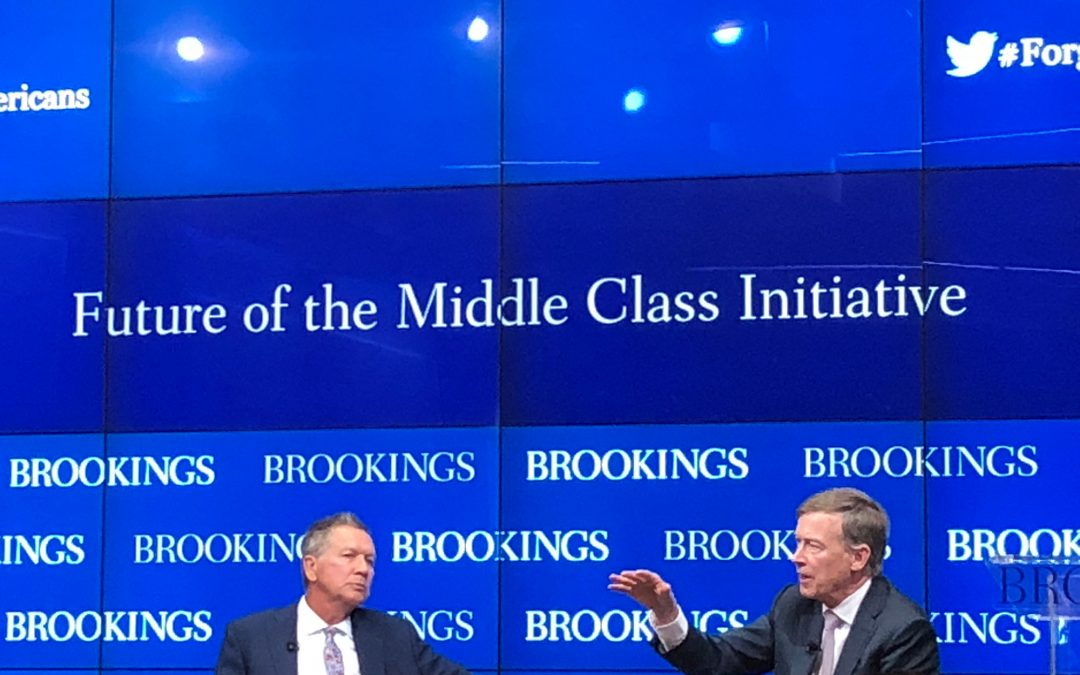 "Bipartisan ""running mates"" talk economic agendas for the middle class"