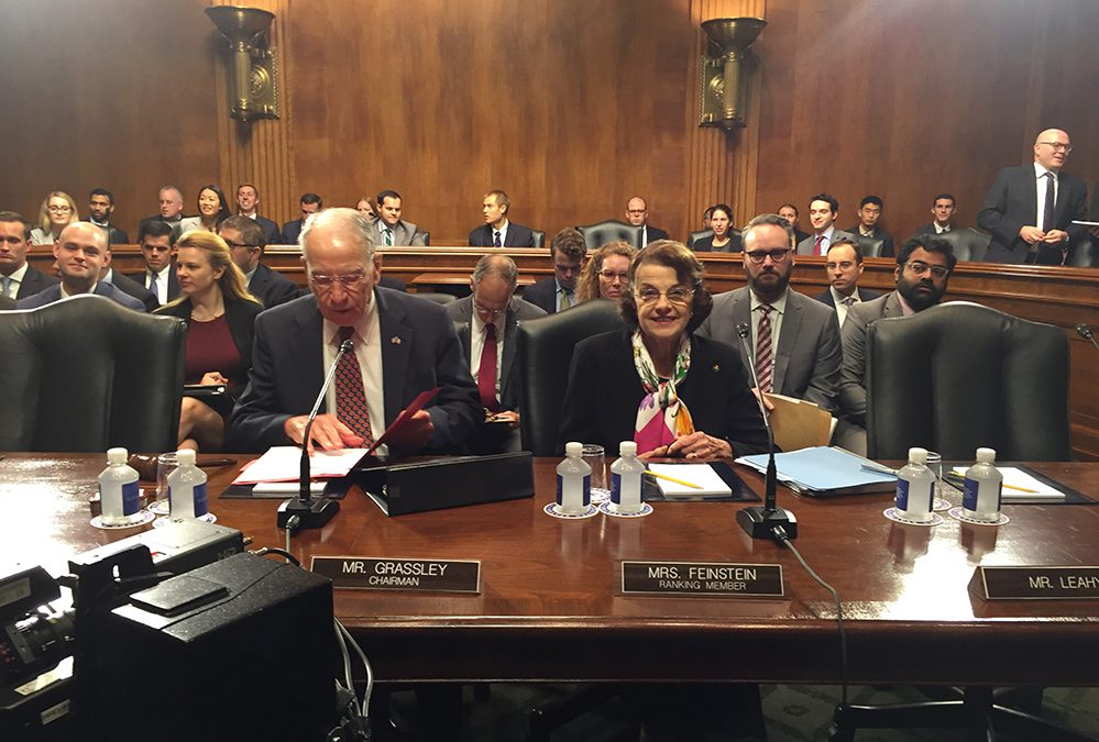 Senate Judiciary Committee finds its bipartisan spirit