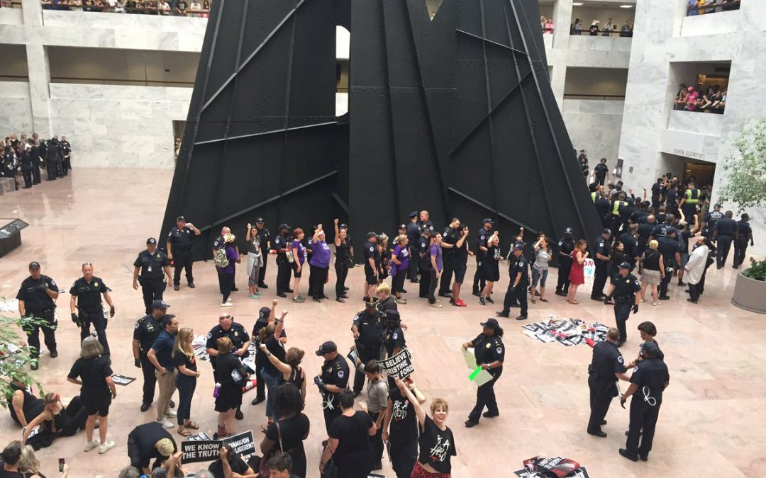 #CancelKavanaugh Protesters Arrested