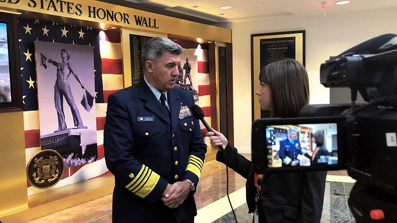 VIDEO: Coast Guard Commandant Speaks on China, Russia Advances in Arctic
