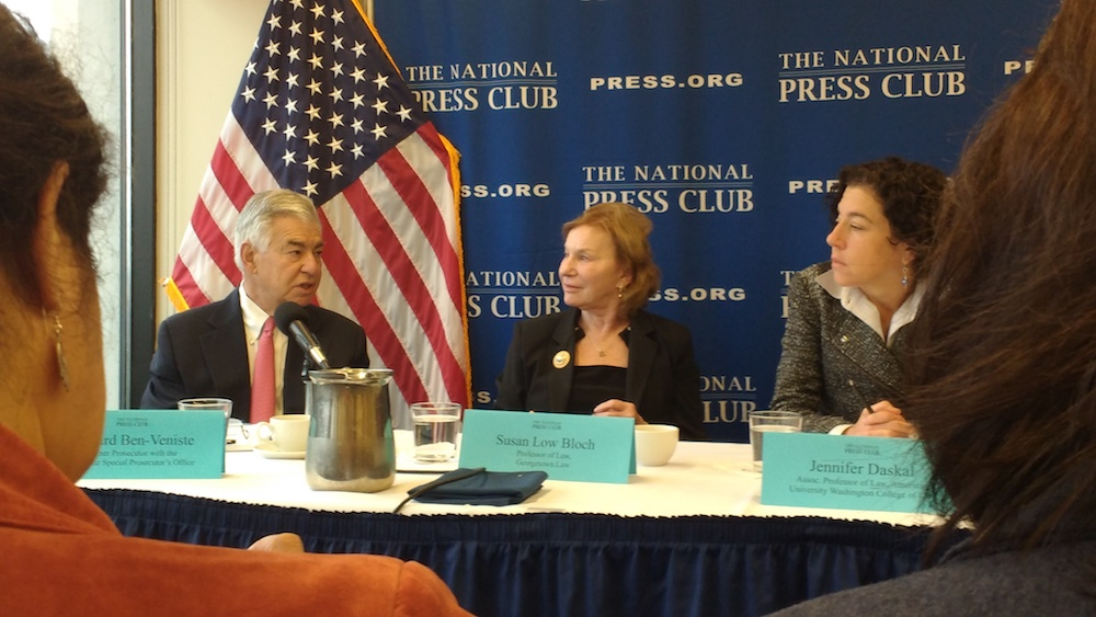 National Press Club panel weighs the possibility of President Trump's impeachment