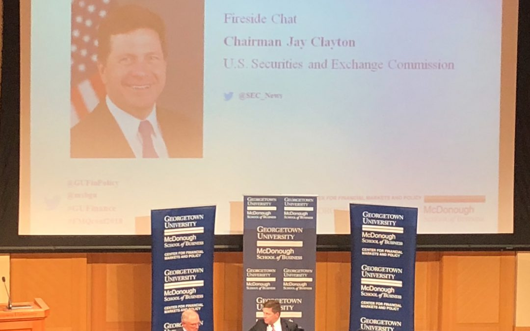SEC Chairman Doubles Down on Transparency and Six-Month Financial Reporting Requirements