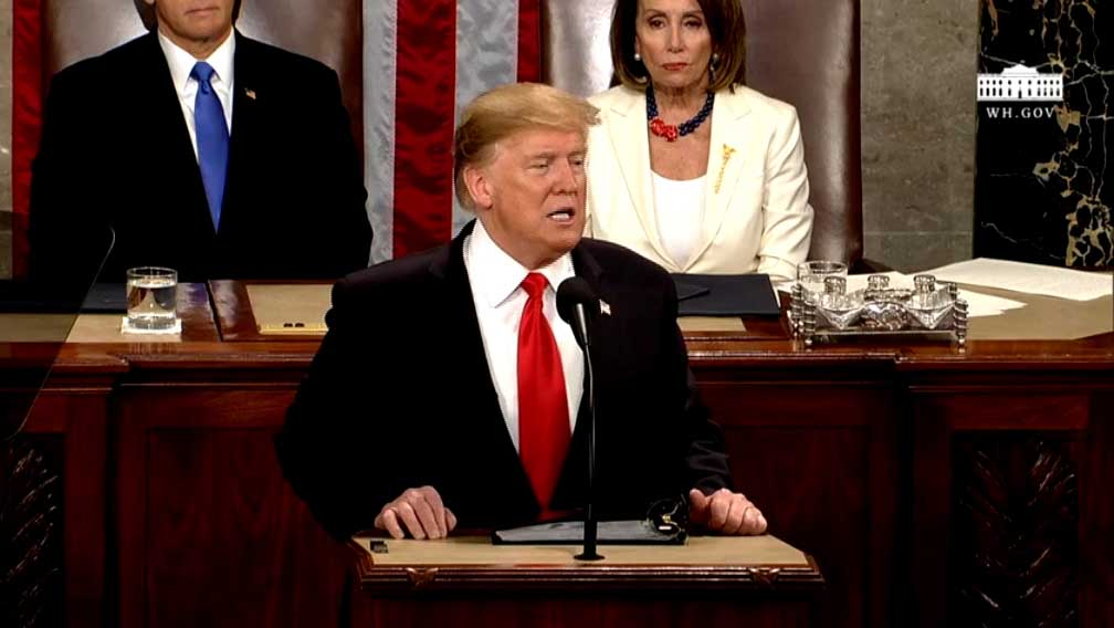 What Indiana lawmakers from both parties thought about Trump's State of the Union address