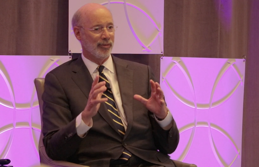 In speech to new U.S. governors, Gov. Tom Wolf shares Pa.'s experience fighting opioid abuse