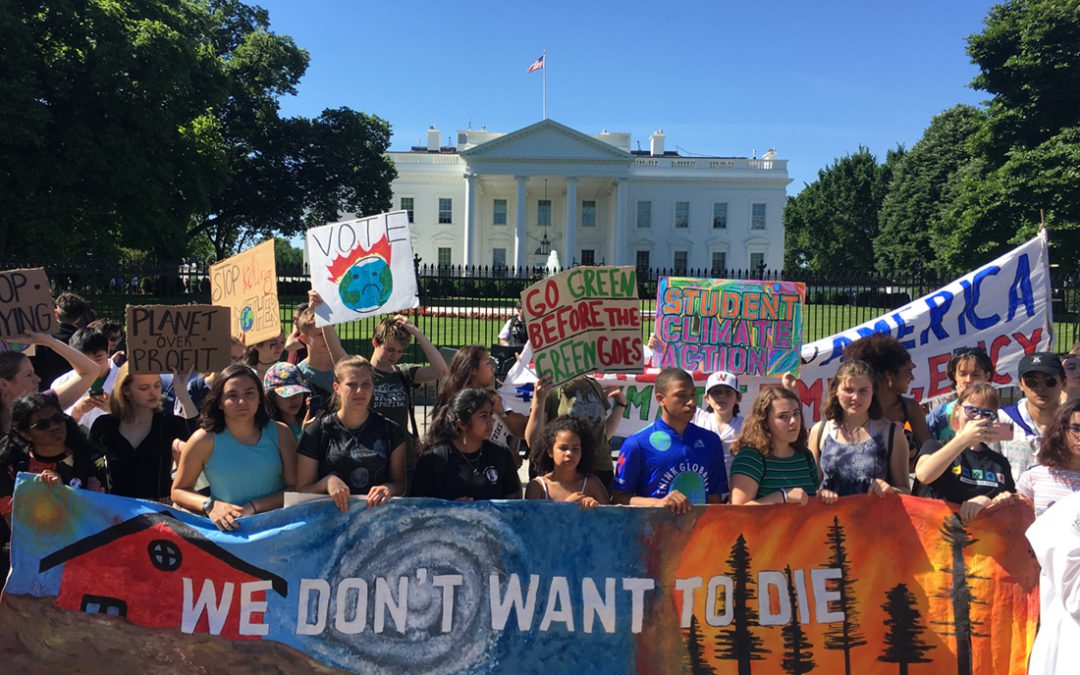 Teens strike for climate action: 'I was born into this crisis'