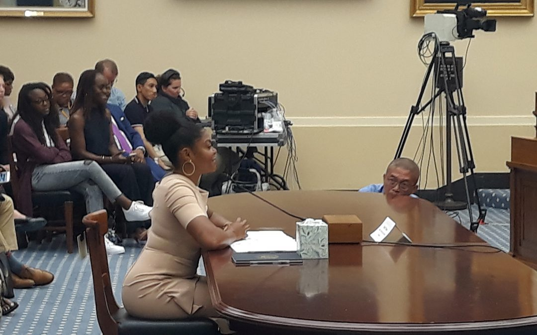 Actress Henson Urges Congress to Help Reduce Youth Black Suicide