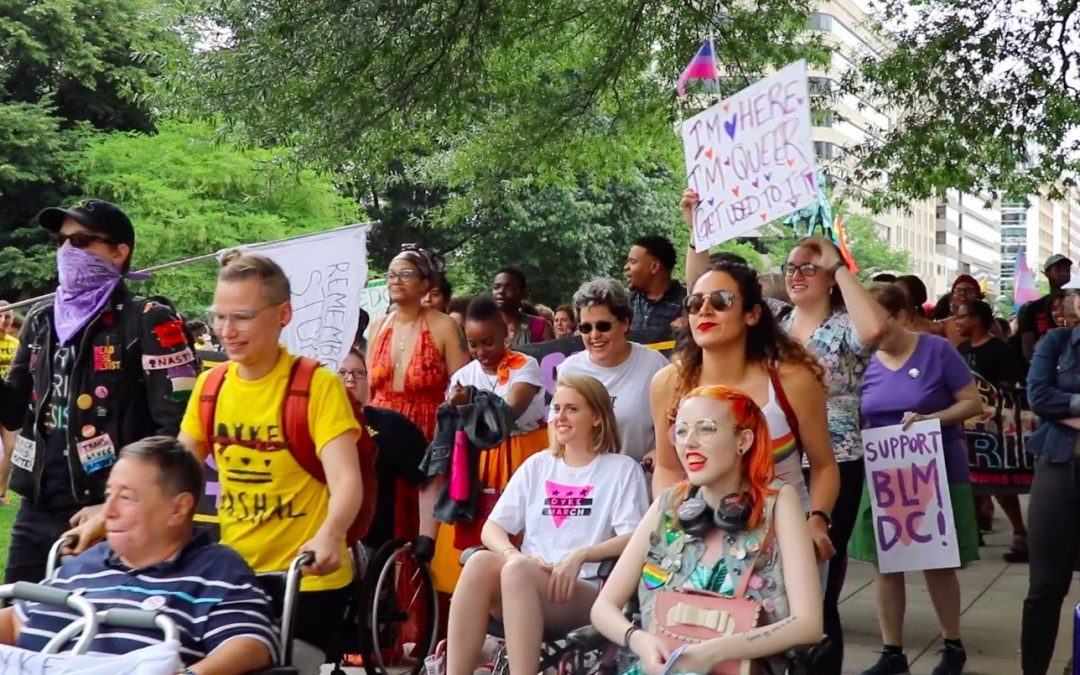 Dyke March protests displacement in Washington