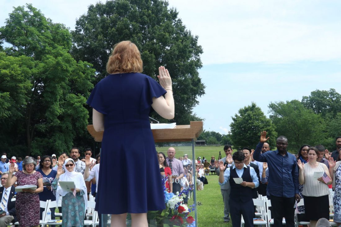 At Mount Vernon, Independence Day celebrated by new citizens