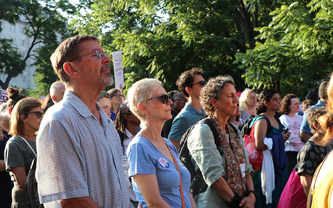 Never again: 'Lights for Liberty' attendee says Trump administration is repeating history