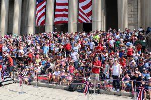 July 4 spectators