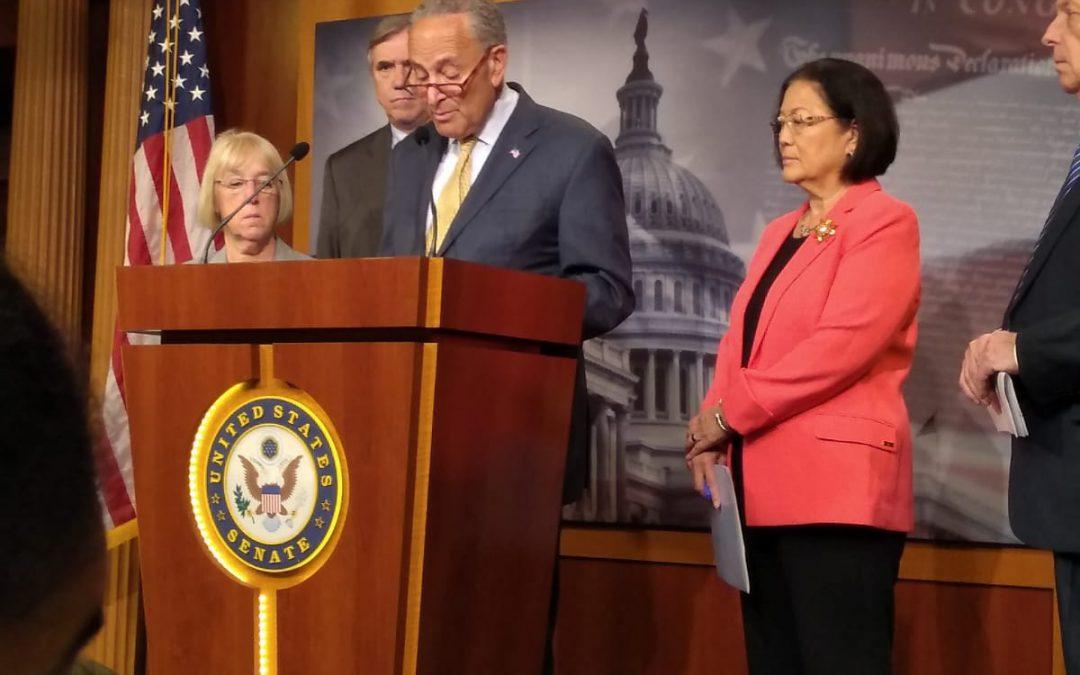 Senate Democrats propose Act to end family separations at border