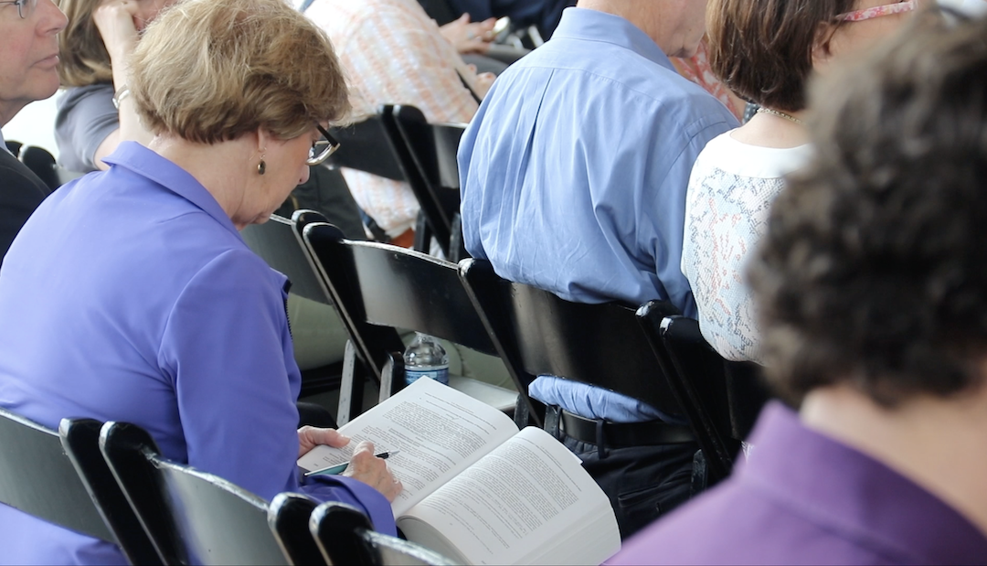 Live reading of Mueller report in D.C. draws full house