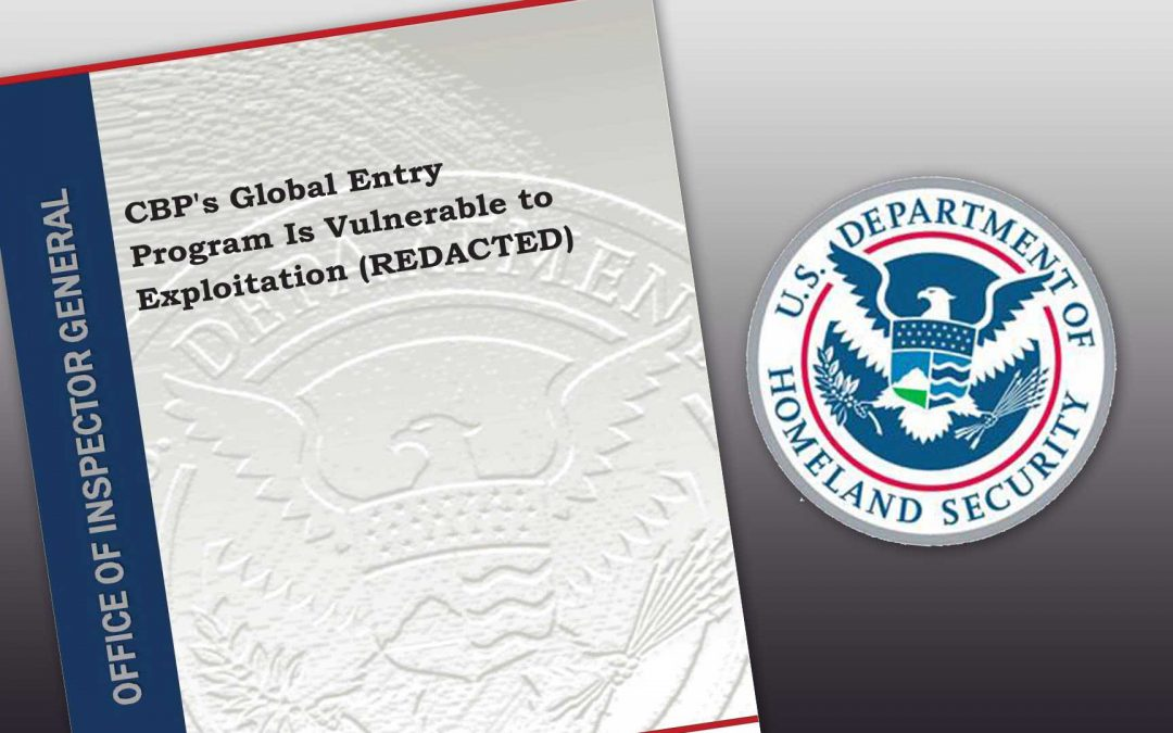 Watchdog agency finds security gaps in Global Entry screening program