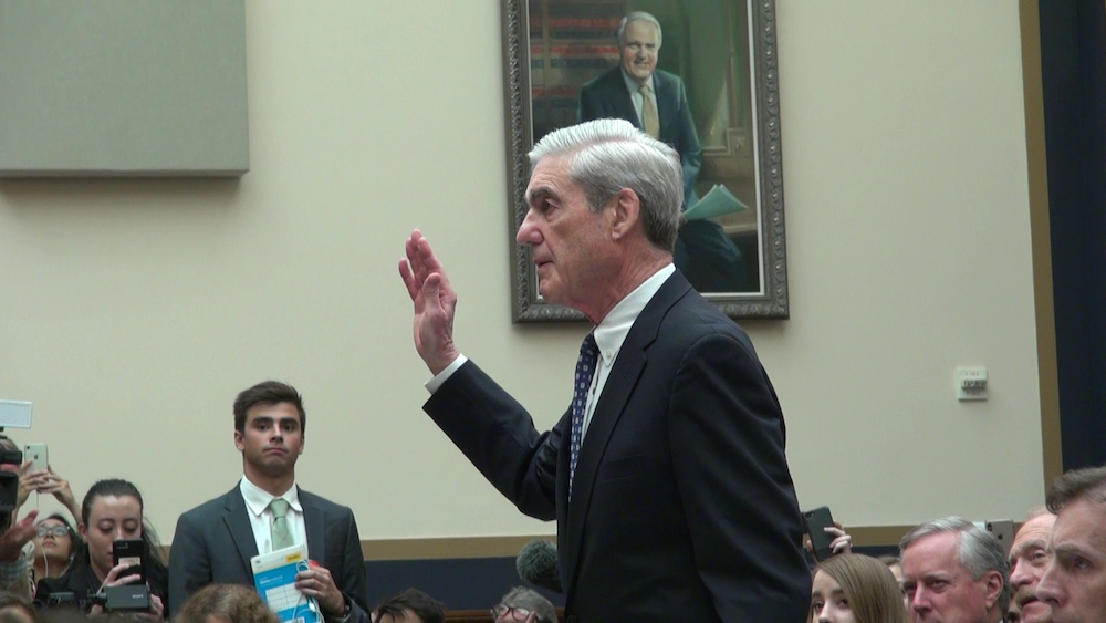 Mueller: Russian interference not a hoax, investigation 'not a witch hunt'
