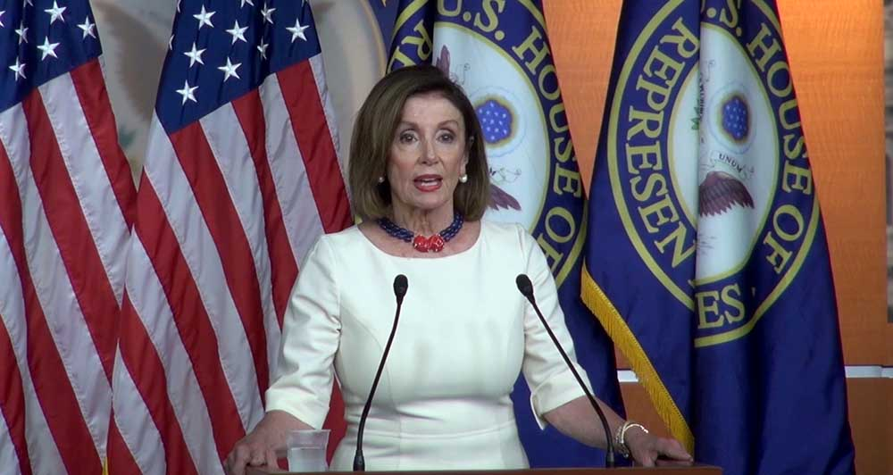 """Pelosi says whistleblower complaint shows evidence of """"cover-up"""""""